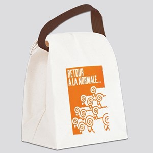 Return To The Normal Canvas Lunch Bag