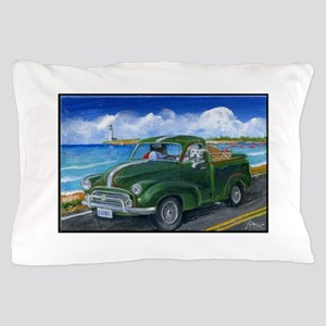 Luna's Highway Adventure Pillow Case