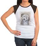 Havanese Puppy Junior's Cap Sleeve T-Shirt