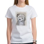 Havanese Puppy Women's Classic White T-Shirt