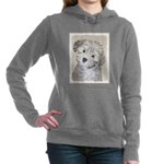 Havanese Puppy Women's Hooded Sweatshirt