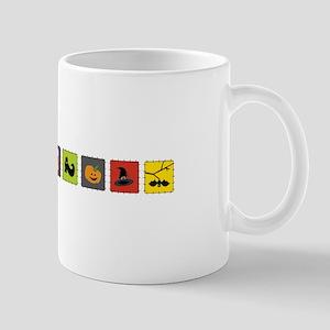 Halloween Border Mugs