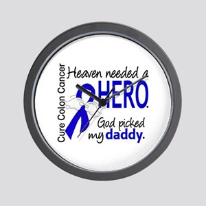 Colon Cancer HeavenNeededHero1.1 Wall Clock