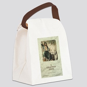 Dickens' A Christmas Carol Canvas Lunch Bag