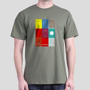 Classic Book Covers Dark T-Shirt