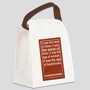 Dickens Canvas Lunch Bag