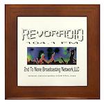 Revoradio 104.1 Fm Framed Tile