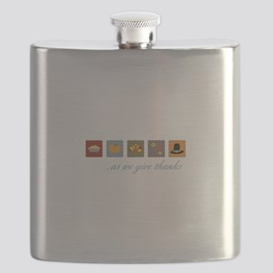 As We Give Thanks Flask