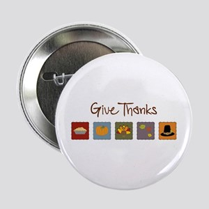 """Give Thanks 2.25"""" Button"""