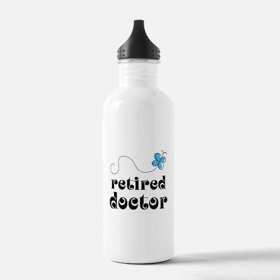 Retired Doctor Water Bottle