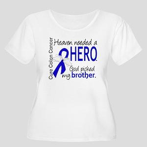 Colon Cancer Women's Plus Size Scoop Neck T-Shirt