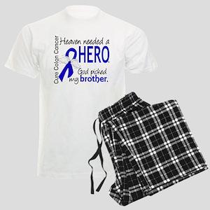 Colon Cancer HeavenNeededHero Men's Light Pajamas