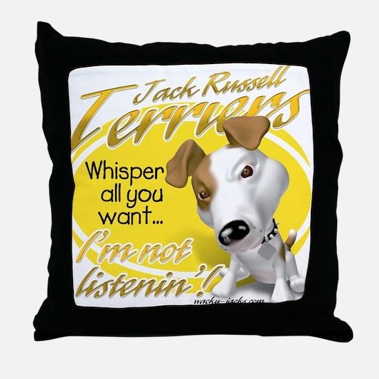 Jack Whisperer Throw Pillow