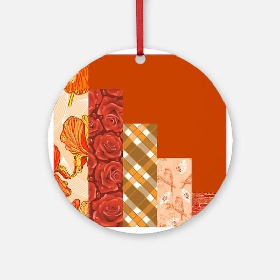 CREAMSICLE Ornament (Round)