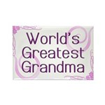 World's Greatest Grandma Rectangle Magnet (10 pack