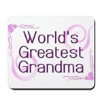 World's Greatest Grandma Mousepad