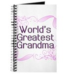 World's Greatest Grandma Journal