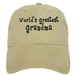 World's Greatest Grandma Cap