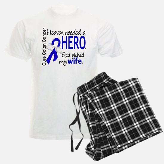 Colon Cancer HeavenNeededHero Pajamas