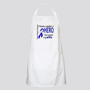 Colon Cancer HeavenNeededHero1.1 Apron