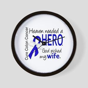 Colon Cancer HeavenNeededHero1.1 Wall Clock