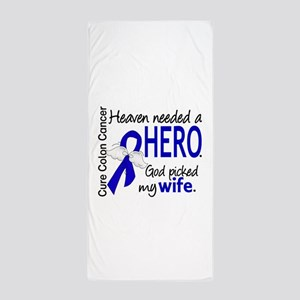 Colon Cancer HeavenNeededHero1.1 Beach Towel