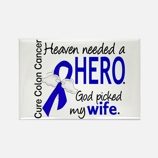 Colon Cancer HeavenNeed Rectangle Magnet (10 pack)