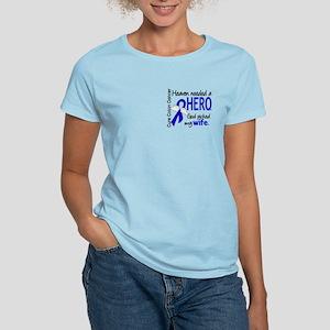 Colon Cancer HeavenNeededHer Women's Light T-Shirt