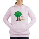 Save a Tree, Eat a Beaver Women's Hooded Sweatshir