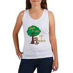 Save a Tree, Eat a Beaver Tank Top