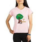 Save a Tree, Eat a Beaver Performance Dry T-Shirt
