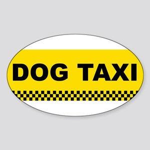 dogtaxi Sticker