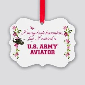 I Raised An Army Aviator Ornament