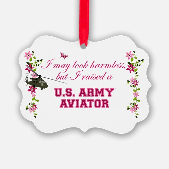 I Raised An Army Aviator Ornament