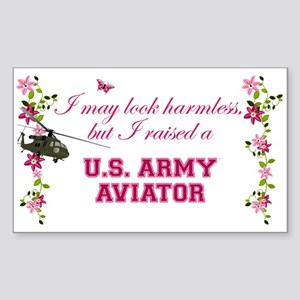 I Raised An Army Aviator Sticker