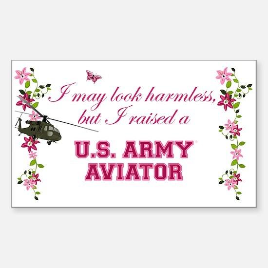 I Raised An Army Aviator Decal