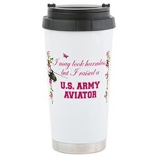 I Raised An Army Aviator Travel Mug