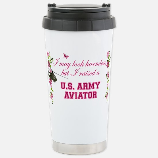 I Raised An Army Aviator Travel Mug