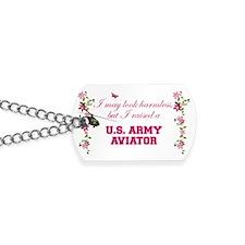 I Raised An Army Aviator Dog Tags