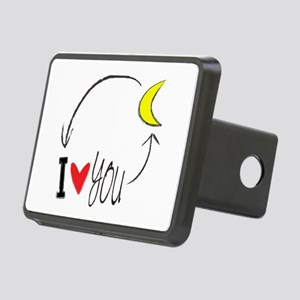 I love you to the moon and back Hitch Cover
