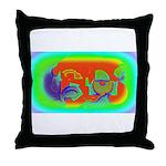 Nanoworld Throw Pillow