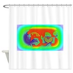 Nanoworld Shower Curtain