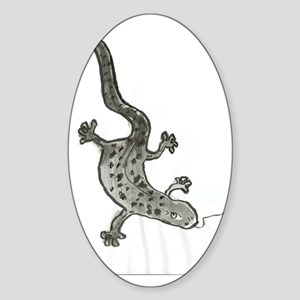 gecko Sticker (Oval)