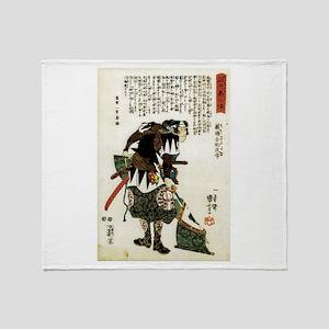 Samuria Kurahashi Zensuke Takeyuki Throw Blanket