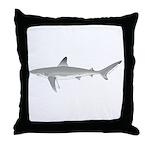 Galapagos Shark Throw Pillow