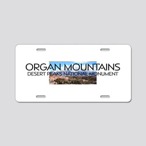 ABH Organ Mountains Desert Aluminum License Plate