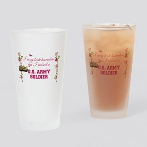 I Raised A Soldier Drinking Glass