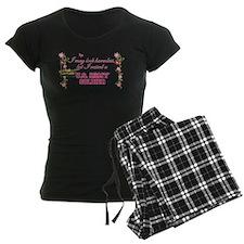 I Raised A Soldier Women's Dark Pajamas