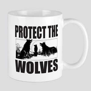 PROTECT THE WOLVES Mug