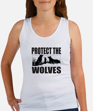PROTECT THE WOLVES Women's Tank Top